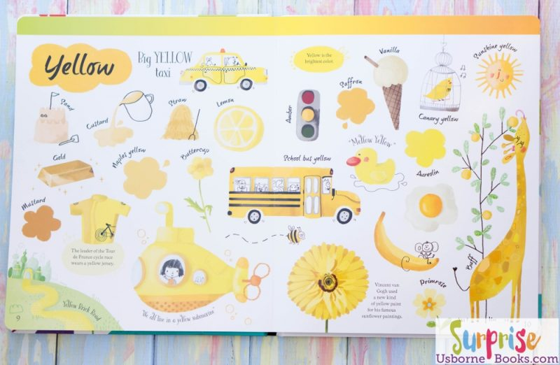 Usborne Big Book of Colors ~ Peek Inside the Cover! - Surprise ...