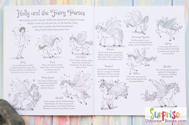 Fairy Ponies Coloring Book 1