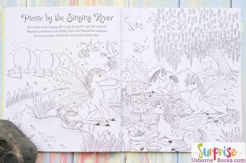 Fairy Ponies Coloring Book 2
