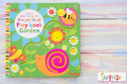 Usborne Fingertrails Garden Playbook