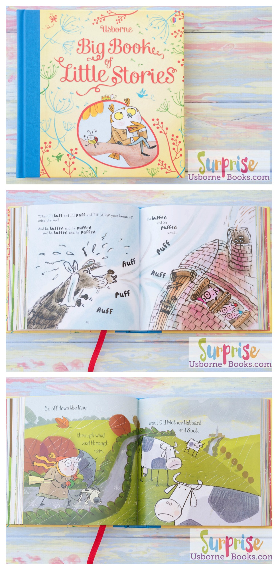 Big Book of Little Stories - Surprise Usborne Books