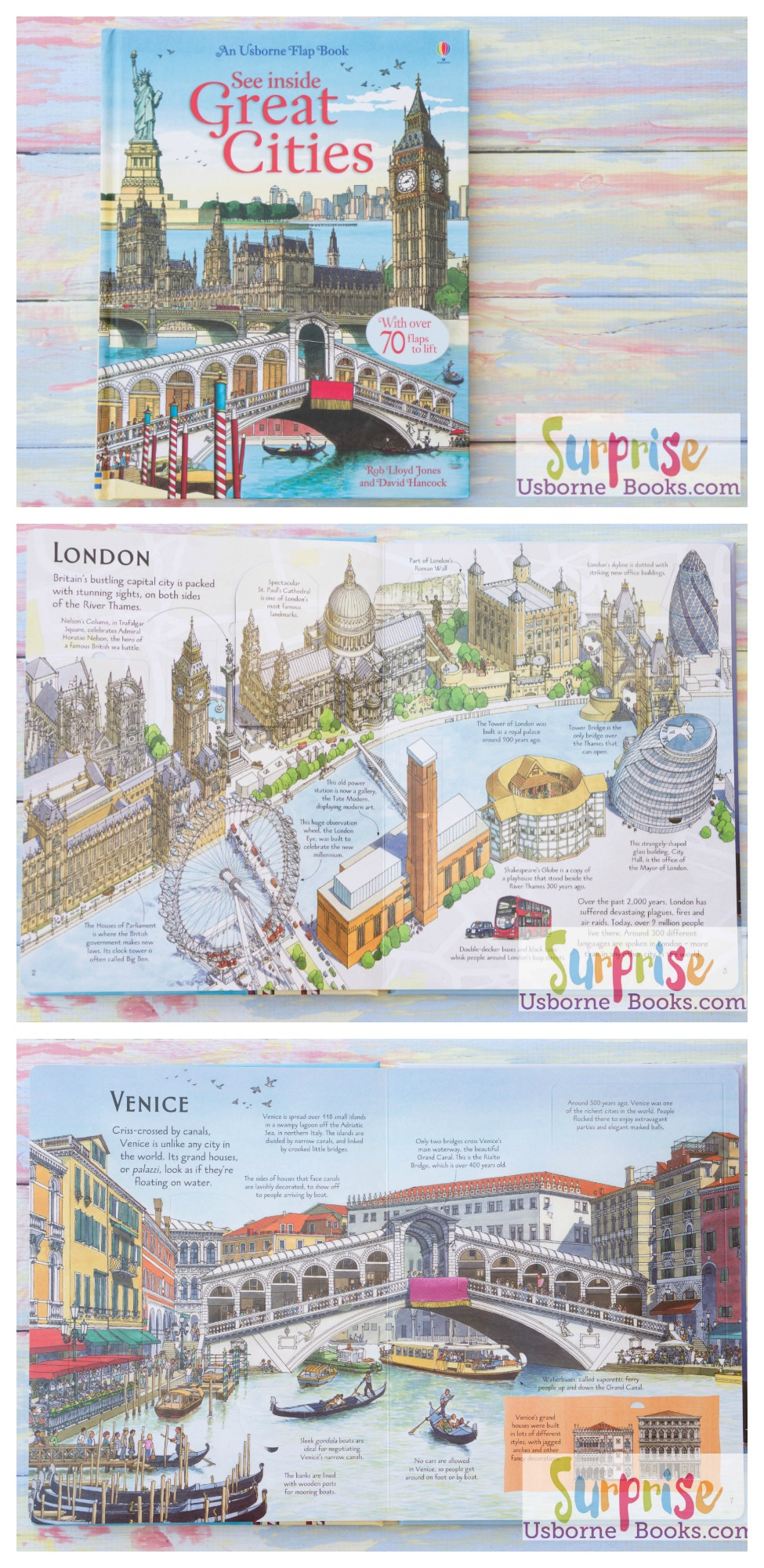 See Inside Great Cities - Surprise Usborne Books