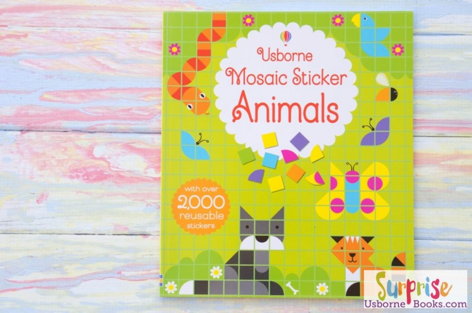 Usborne Mosaic Sticker Animals