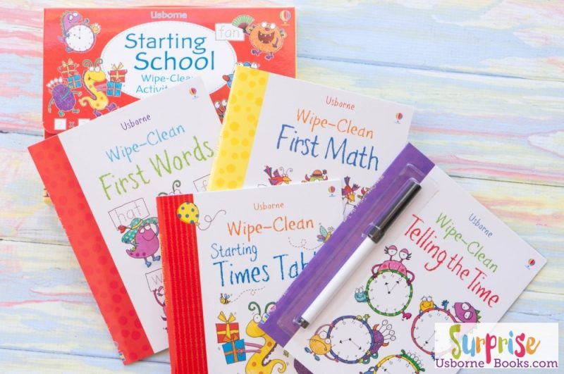 Usborne Starting School Wipe-Clean Activity Pack