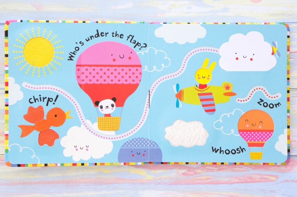 Usborne Baby's Very First Lift-the-Flap Play Book
